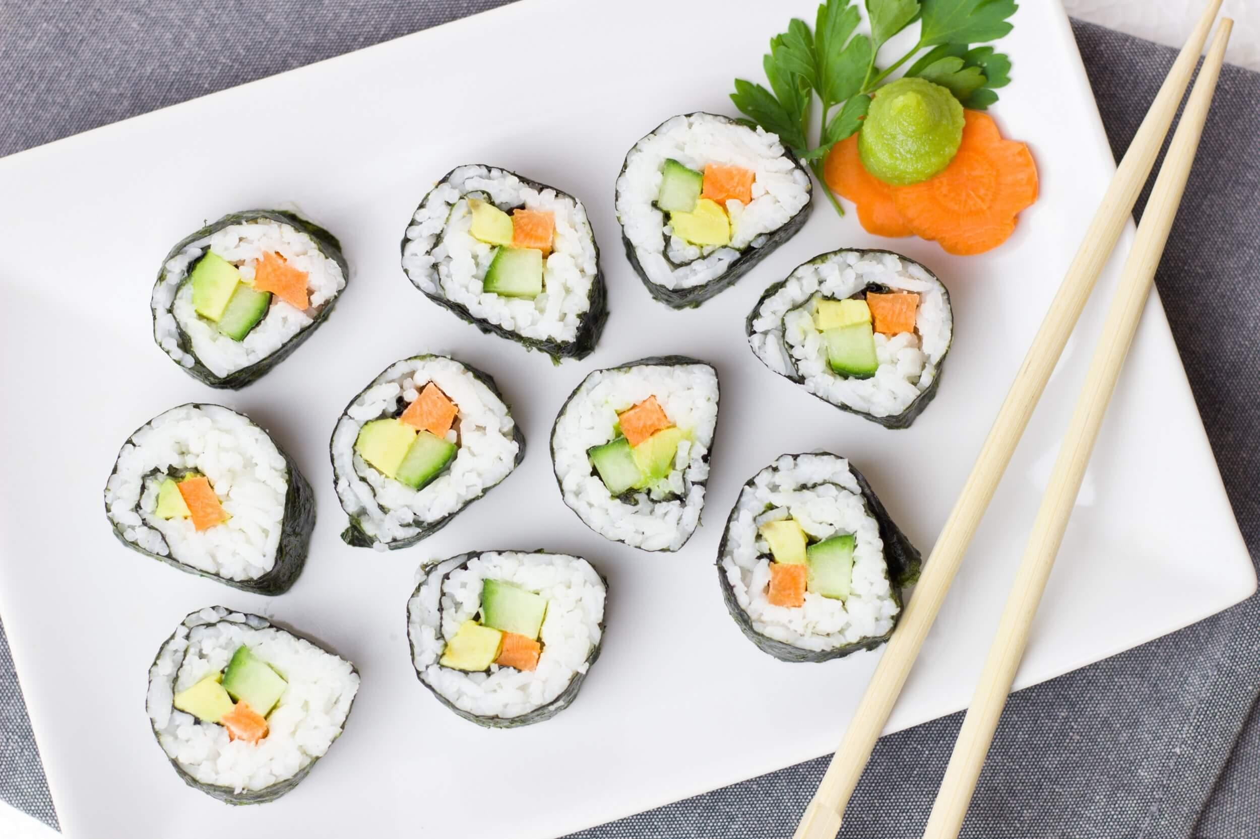 Sushi à domicile