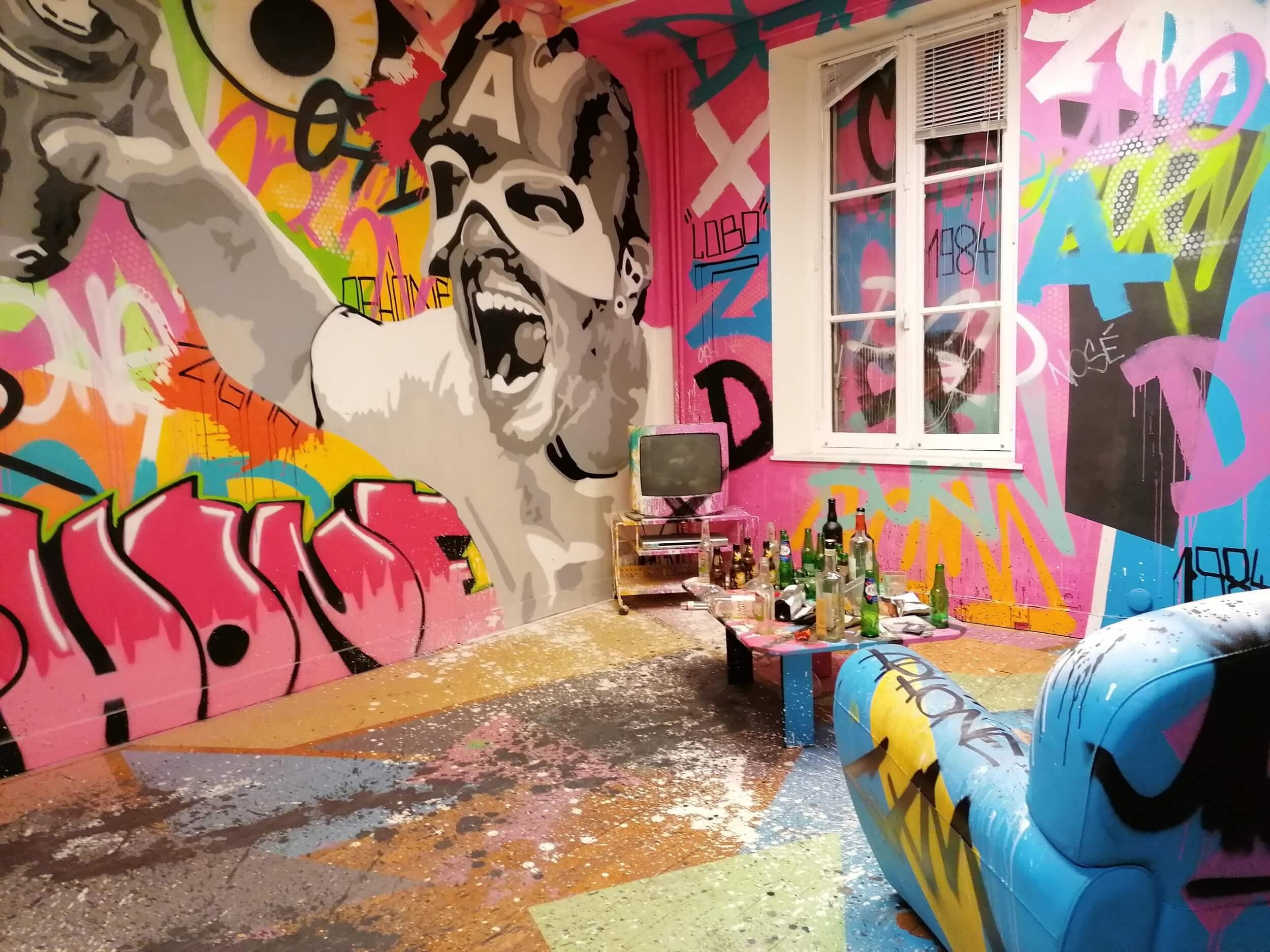 Le Dédale, un lieu dédié au Street-art à Vannes